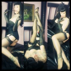 Pin Up Domination by Lady Vampira - Copyright ©